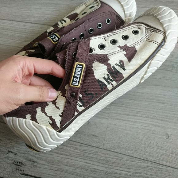 Army Canvas Shoes Sneakers | Poshmark
